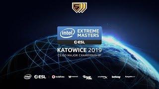 🔴LIVE: [Vietnamese] Major IEM Katowice 2019 - Legends Stage - Ngày 1 - Stream B