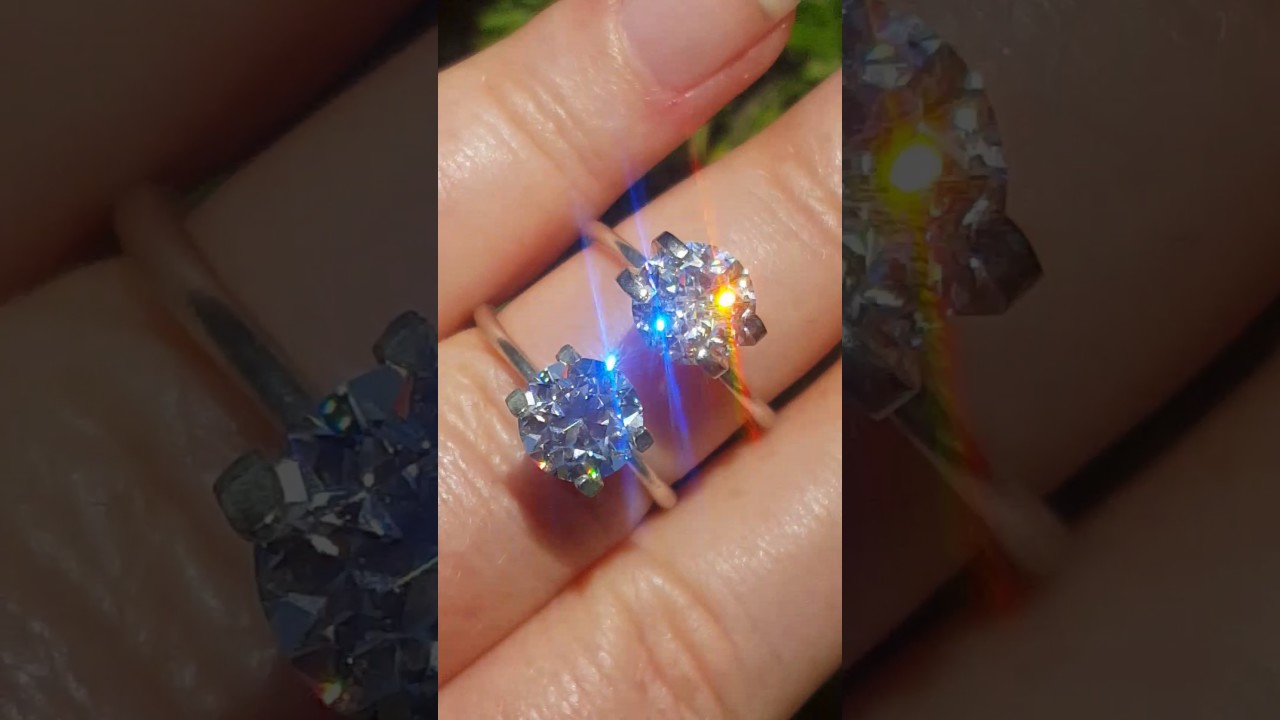 Comparing Old European Cut OEC Moissanite and Jubilee Cut Moissanite ...
