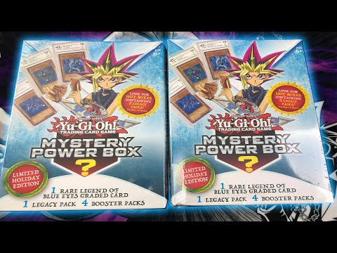 *NEW* YuGiOh LIMITED HOLIDAY EDITION MYSTERY POWER BOX OPENING / REVIEW! Get Graded Cards 100%?