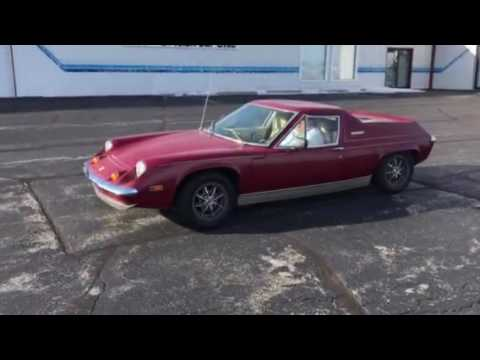 Worksheet. FOR SALE 1974 Lotus Europa Twin Cam Special 5Speed  YouTube