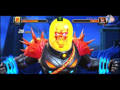 3 star cosmic ghost rider gameplay MCOC |