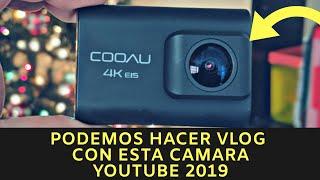 Podemos Hacer Vlog en Youtube con esta Camara de Accion Barata!