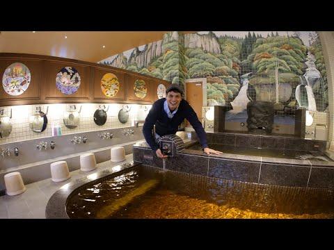 Tokyo's Retro Theme Bath House   Hasunuma Onsen はすぬま温泉