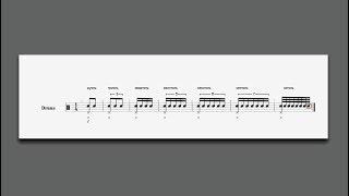 Ритмические группы(триоль, квартоль и т.д.) обучение