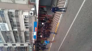 Bursaspor taraftarı Akhisar taraftarına saldırdı