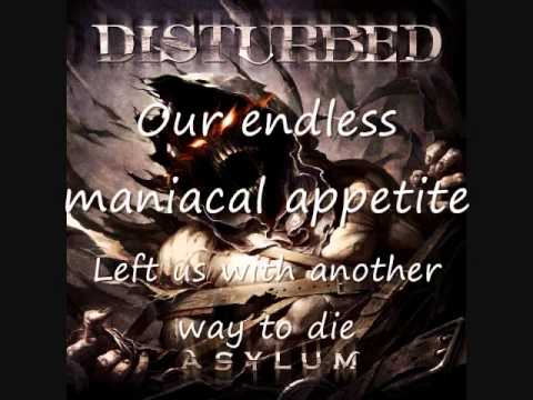 Disturbed- Another Way to Die with lyrics