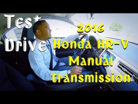 2016 honda hrv manual transmission