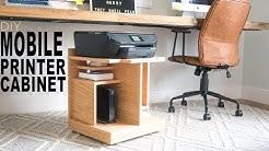 Under Desk Printer Stand
