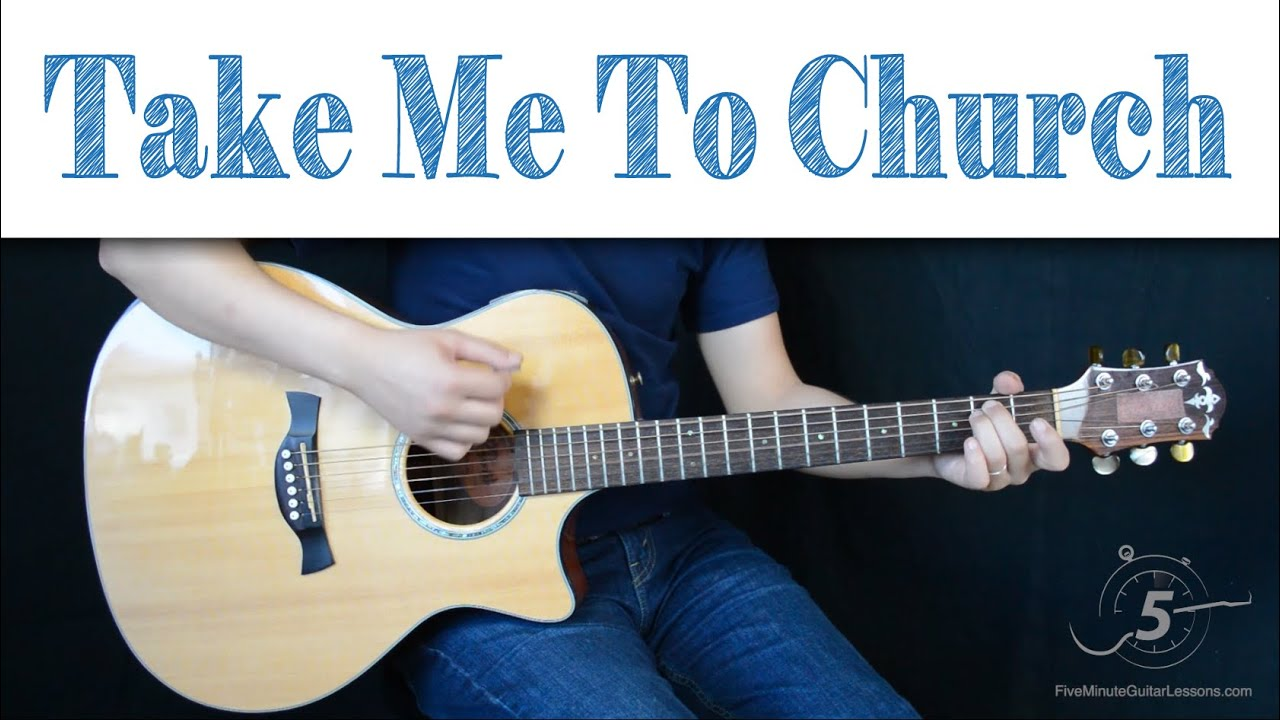 """How To Play """"Take Me To Church"""" by Hozier #1"""