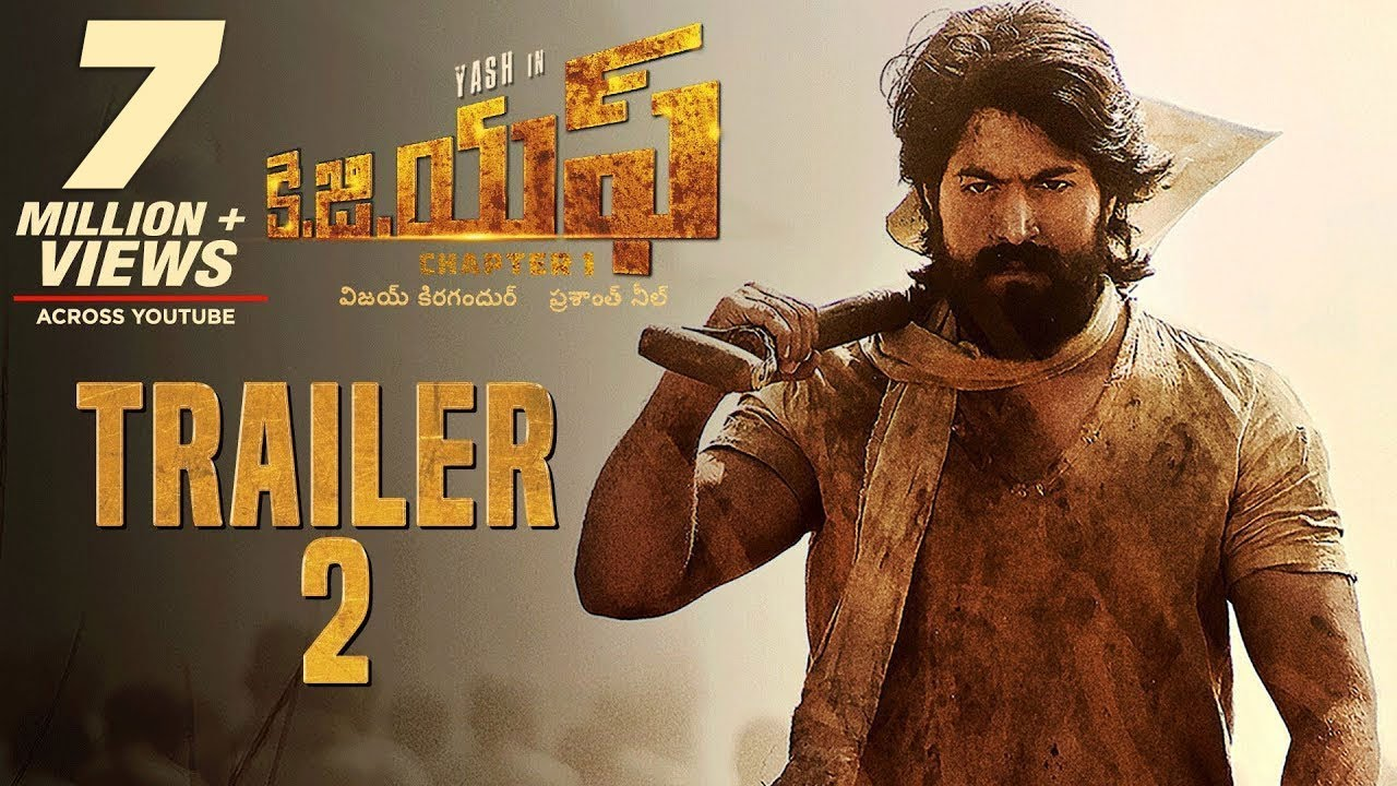 Kgf Official Telugu Trailer 2 Yash Srinidhi Shetty Prashanth