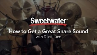How to Get a Great Snare Sound with Telefunken Microphones