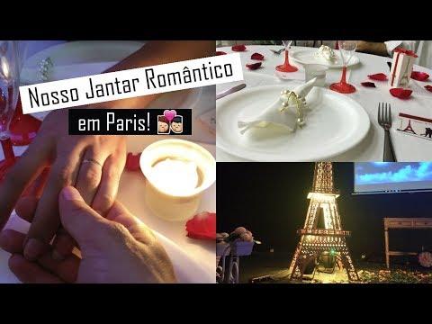 Mari Casou aos 17 - Nosso jantar romântico em Paris! ❤❤❤