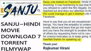 Sanju Movie Leaked Online   Rajkumar Hirani REACTS, Gets Emotional