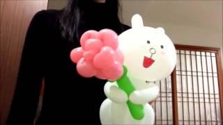Очаровательный цветок роза из шарика своими руками (как сделать букет цветов из шаров)