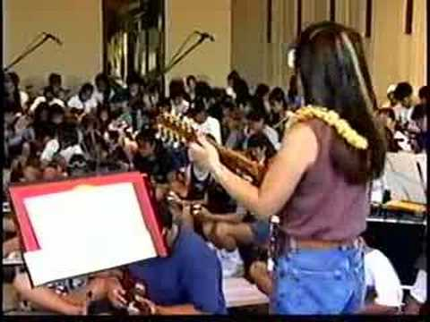 Ukulele Festival 1999 Lead Up - Ukulele Group Joy