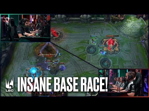 Insane Base Race between Fnatic & G2! | #LEC Week 9