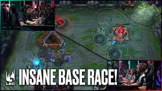 Insane Base Race between Fnatic & G2! | #LEC Week 9