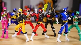 これは完全に海外のパワーレンジャー玩具仕様!ニンニンアクションシリーズ01〜03をレビュー!手裏剣戦隊ニンニンジャー Shuriken Sentai Ninninger Action Figure thumbnail