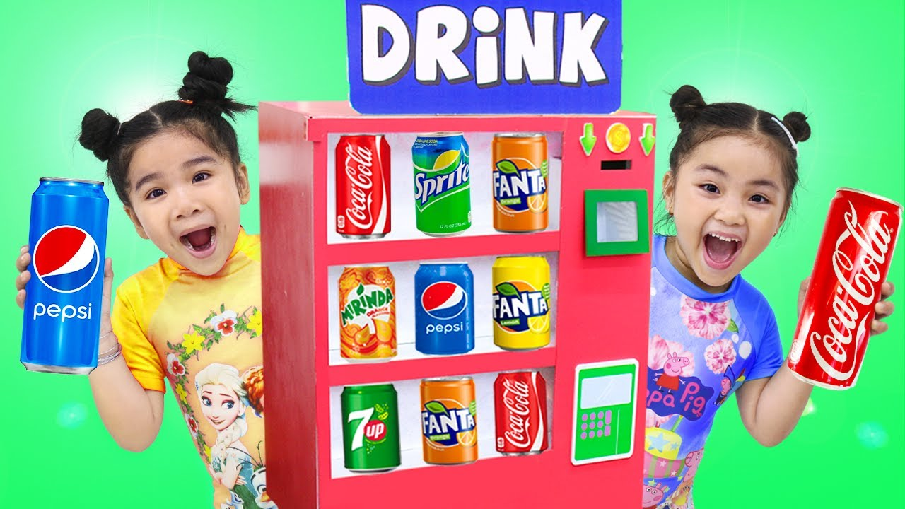 Color Soda Song | Suri & Annie Sing-Along and Learn Colors Nursery Rhymes Kids Songs