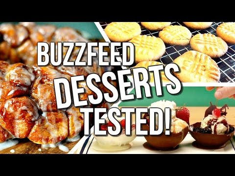 Thumbnail: Buzzfeed Dessert Food Recipes TESTED | Courtney Lundquist