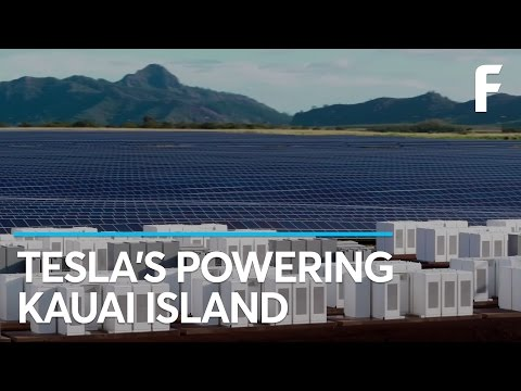 Tesla's 55,000 Solar Panel Farm Will Change Kauai