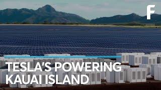 Tesla's 55,000 Solar Panel Farm Will Change Kauai