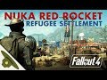 NUKA-WORLD RED ROCKET Refugee Camp: Realistic Fallout 4 settlement and lore