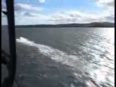 Offshore race - Helikoptervideo Holmestrand 2004
