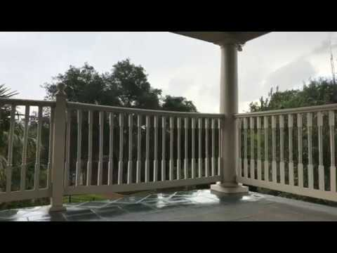Giant Lightning Strike Hits my HOUSE FIRE ALARMS GO OFF