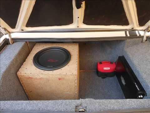 Видеозапись Ваз 2106 2101 2107 2105 2103 тюнинг салона обшивка багажника своими руками карпетом.