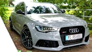 NEU: Testbericht Audi RS6 Avant [2013] - Road Test Drive Video Review - EngineReport