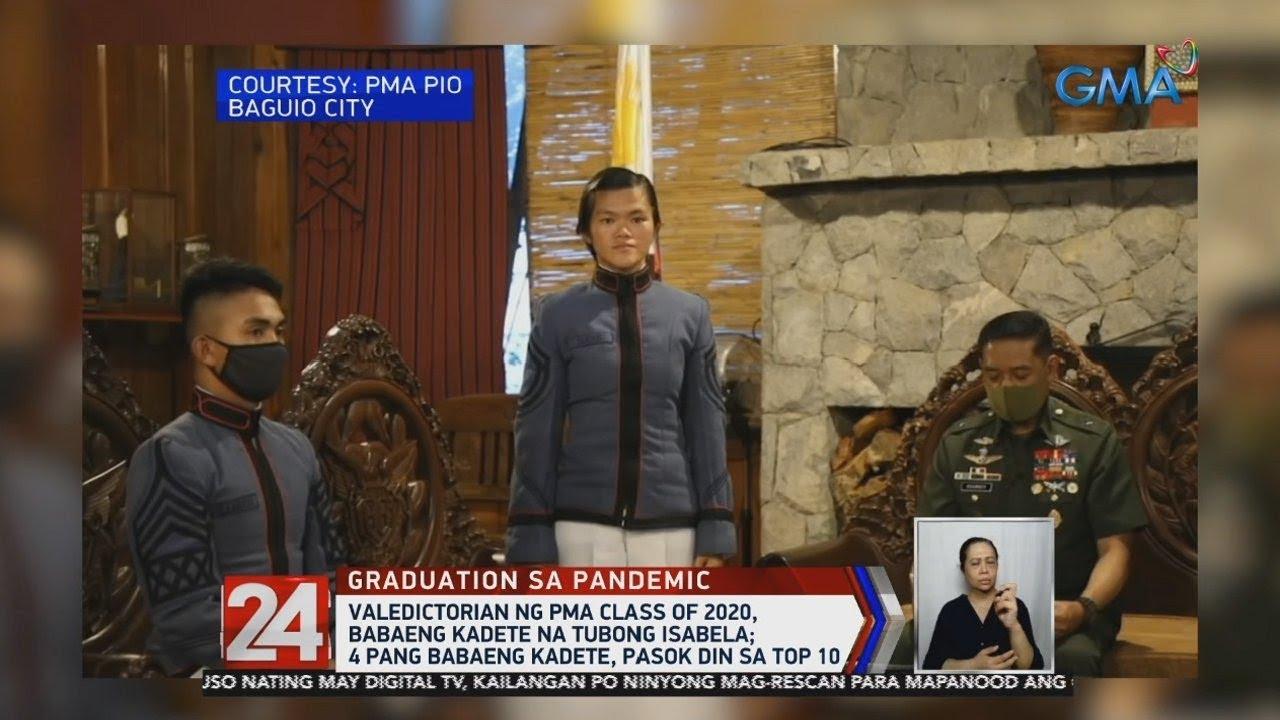 24 Oras: Valedictorian ng PMA Class of 2020, babaeng kadete na tubong Isabela