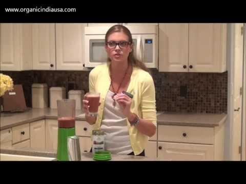 Making Smooth-teas with Organic India - Super Fruit Smoothie