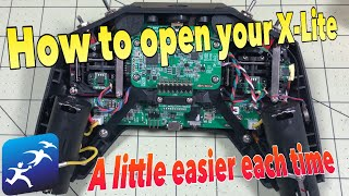 How to open a FrSky Taranis X-Lite Radio.  You are going to need to sooner or later.