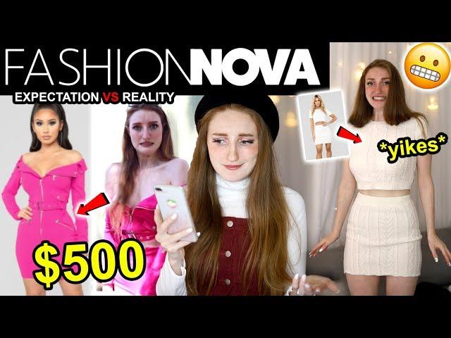 WEARING FASHION NOVA OUTFITS FOR A WEEK!! I SPENT $500 ON FASHION NOVA... 😱 WAS IT WORTH IT??