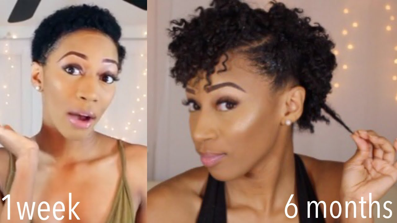 6 Month Big Chop Update How Much Has My Hair Grown Hairstyles