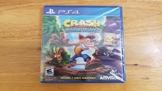 Crash Bandicoot N. Sane Trilogy Unboxing!