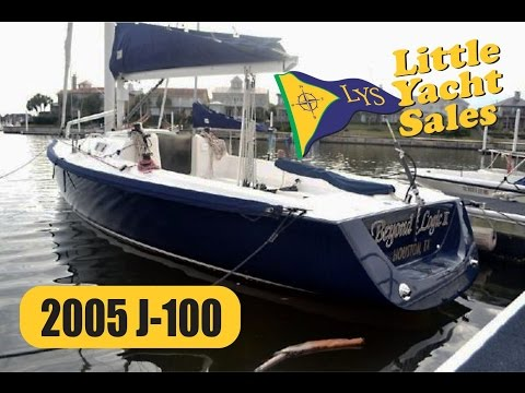 SOLD!!! 2005 J-Boats J100 sailboat for sale at Little Yacht Sales, Kemah Texas