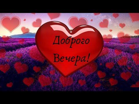 Добрый Вечер - пожелания хорошего вечера и спокойной ночи