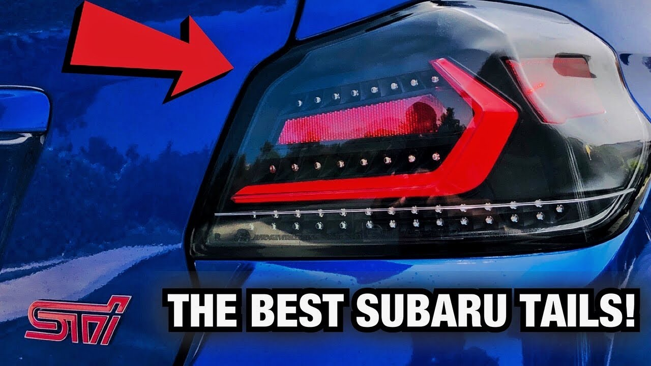 The BEST Tail Lights for a Subaru WRX/STI! OLM Evolution Install