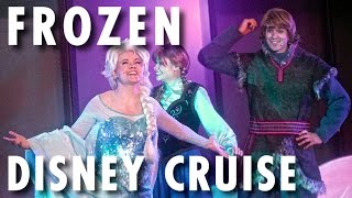 Frozen Theme Cruise on Disney Wonder in Alaska ~ Disney Cruise Line ~ Cruise Review