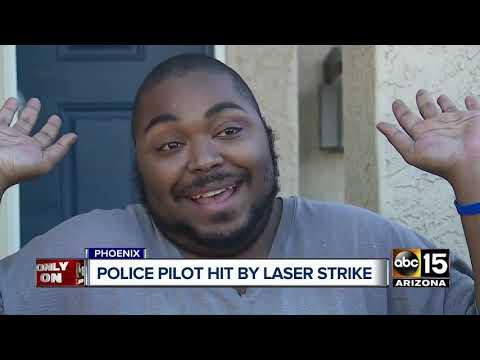 Phoenix Police Pilot Hit By Laser Strike
