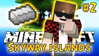 Minecraft: SkyWay Islands Survival #2 - IRON! (Epic Sky Adventure)