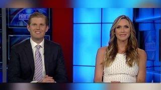 Eric and Lara Trump  The RNC has built a war chest