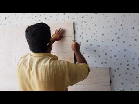 How to Fixing anf Install Tiles in Wall by Expert Technician