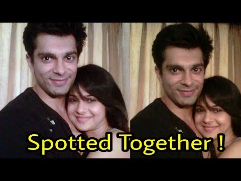 Jennifer Winget and Karan Singh grover recently spotted together in restaurant in Mumbai ! Omg 👍