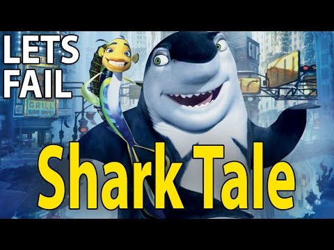 LETS FAIL: Shark Tale || 33 Things Wrong With Dreamworks Movie || Will Smith Martin Scorsese