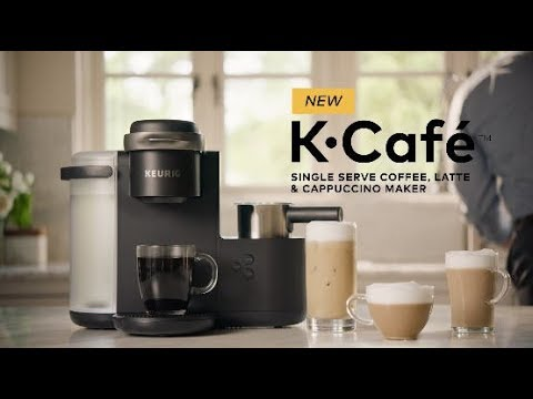 New Keurig K Cafe Coffee Latte Cappuccino Maker Youtube