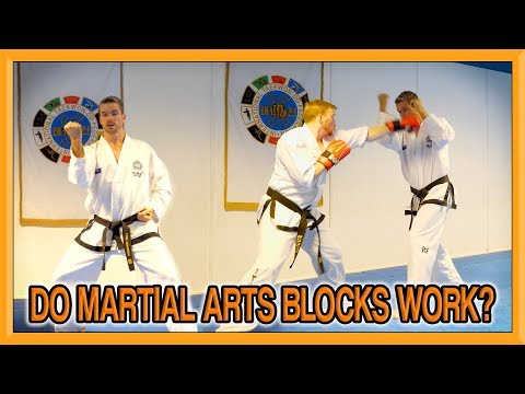 Do Martial Arts Blocks Work? | How To Make Taekwondo Blocks Effective Part 1