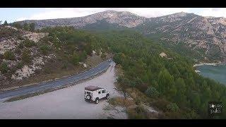 Castellane to Gorge du Verdon scenic drive Provence Land Rover Defender